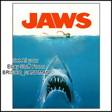 Fridge Fun Refrigerator Magnet JAWS MOVIE POSTER Version B 70s retro
