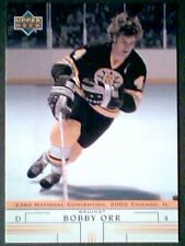 BOBBY ORR '02 CHICAGO NATIONAL CONVENTION INSERT CARD  SP