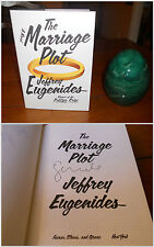 SIGNED ~ The Marriage Plot by Jeffrey Eugenides ~ 1st/1st Edt (2011, Hardcover)