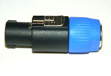 "Speakon Male Audio2000s ACC31A1 4P 1/4"" Jacking Locking 4071"