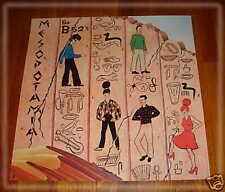 "B-52's- 1982 ""Mesopotamia"" PROMO POSTER Warner Bros"