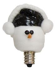 Earmuff Snowman Light Bulb  - 3 Watt Silicone Dipped - Vickie Jean's - Christmas