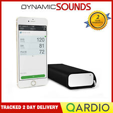 Qardio Arm Wireless Smart Blood Pressure Monitor for iPhone iOS Android White