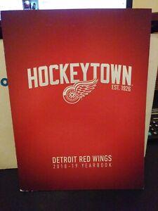 2018-2019 Detroit Red Wings Yearbook