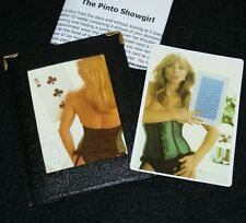 Pinto Showgirl with leather wallet -- sexy card revelation from Europe      TMGS