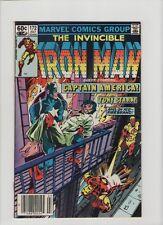 Invincible Iron Man #172 - Captain America Crossover - 1983 (Grade 8.0) WH