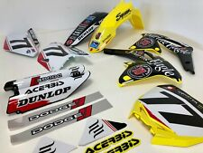 Suzuki Soaring Eagle RCH Graphics Plastics Kit RM 125 250 1998 1999 2000