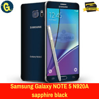 Brand New Samsung Galaxy Note 5 32GB Sapphire Black Unlocked Android Smartphone
