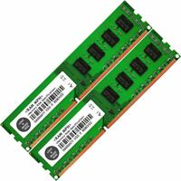 Memory Ram 4 Lenovo ThinkCentre Desktop M58 4099 M60e 2x Lot DDR3 SDRAM