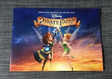 Disney The Pirate Fairy Exclusive Comemorative Lithograph Photos Brand New