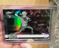 Brandon Lowe 2019 Topps Chrome #151 1st RC Negative Refractors Tampa Bay Rays