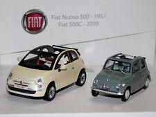 FIAT 500 DECOUVRABL & FIAT 500 C NOREV COFFRET 770049 1/43
