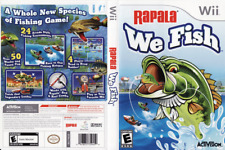 Rapala: We Fish (Nintendo Wii, 2009) - Complete