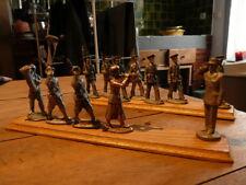 lot de 12 FIGURINES QUIRALU SOLDATS  MUSICIENS
