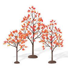 Department 56, Dept 56 Village Accessories - Village Autumn Maple Trees, 810845