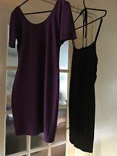 BUNDLE  of TWO WOMENS BODYCON DRESSES SIZE 10 BRAND NEW WITH TAGS