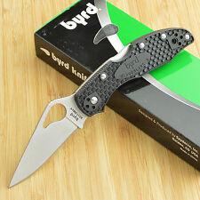 Spyderco Byrd Meadowlark Frn Plain Edge Folding Knife 8Cr13MoV By04Pbk2