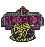 Universal Studios Florida 30th Anniversary Retro Logo Glitter Enamel Pin 2020
