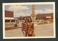 Vintage Color Photo Ma & Pa Sahara Casino Lake Tahoe Rowan & Martin Sign 429098