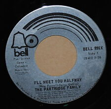 The Partridge Family I'll Meet You Halfway/Morning Rider On The Road 1971 Pop 45