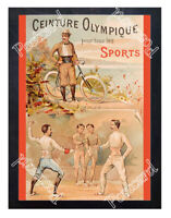 Historic Olympic Games in Paris, 1900 Advertising Postcard