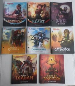 MTG Bundle Fat Pack Players Guide Lot of 8 DIFFERENT Magic The Gathering