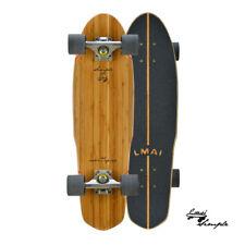 "LMAI 27 "" Bambù Legno D'Acero Cruiser Skateboard Penny Nichel Stile"