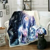 Details about  /3D Eye Pattern NAO074 Warm Plush Fleece Blanket Picnic Sofa Couch Quilt Bed Amy