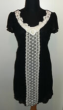 orig YUMI ★ TRAUM Kleid Spitzenkleid M L 36 38 Dress NEU beige cream schwarz rar
