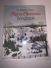 Readers Digest Merry Christmas songbook c.19813rd Printing