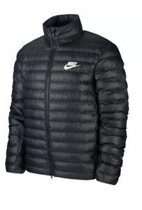 Mens Nike Sportswear Fill Puffer Jacket BV4685-010 Black New Size Large