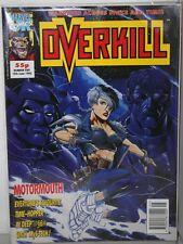 OVERKILL #5 MARVEL UK COMIC MAGAZINE DIGITEK- COM-777