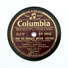 """SAVOY HOTEL ORPHEANS """"Can't Get Out Of This Mood"""" (E+) COLUMBIA FB-2908 [78 RPM]"""