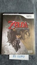GUIDE THE LEGEND OF ZELDA TWILIGHT PRINCESS WII NINTENDO NEUF SOUS BLISTER VF