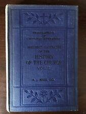 DOCUMENTS ILLUSTRATIVE OF THE HISTORY OF THE CHURCH VOL.II by B.J. KIDD - H/B