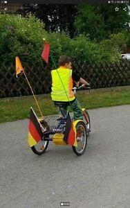 Therapie fahrrad Draisin Dreirad