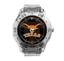 Texas Longhorns NCAA Stainless Steel Analogue Men's Watch Gift