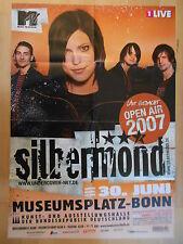 SILBERMOND 2007 BONN  -  orig.Concert-Konzert-Tour-Poster-Plakat DIN A1