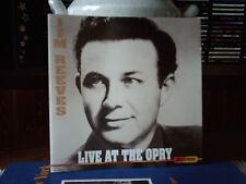 "JIM REEVES  - "" LIVE AT THE OPRY ""  -- cd / neuwertig"
