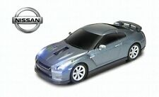 Nissan GT-R GTR Wireless Car Mouse (Grey) IDEAL CHRISTMAS GIFT - OFFICIAL