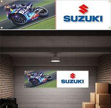 Suzuki pvc bannière signe moto gp garage atelier bannière signe gsxr 1000 750 600