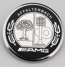 57mm AFFALTERBACH AMG MERCEDES Logo Flat Hood Bonnet Emblem Badge NEW