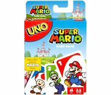 Mattel Uno Super Mario Card Game Edition