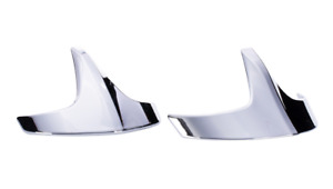 INDIAN MOTORCYCLE TWO CHROME PINNACLE FENDER TIPS ACCENTS FOR 2014-2020 CHIEF
