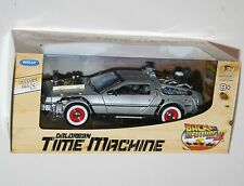 Welly - DELOREAN Time Machine 'Back To The Future III' Diecast Model Scale 1:24