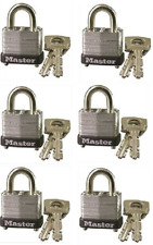 (PACK OF 6) Master Lock 10KA Keyed Alike L23 1