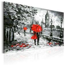 100% Handgemalt Gemälde Bilder Leinwand London Big Ben 120x80 d-B-0158-b-a_MK