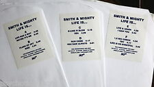 """Smith & Mighty – Life Is... 3 x 12""""  For Promotion Only  Studio !K7123LP France"""
