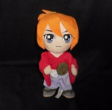 "8"" RUROUNI KENSHIN WANDERING SAMURAI STUFFED ANIMAL PLUSH TOY DOLL JAPAN ANIME"