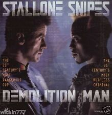Sylvester Stallone Wesley Snipes Demolition Man Laserdisc LD 1994 (good)
